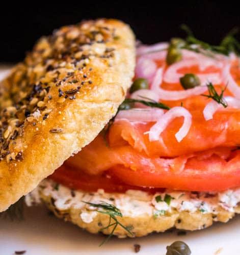 Lox 'n Bagel Sandwich
