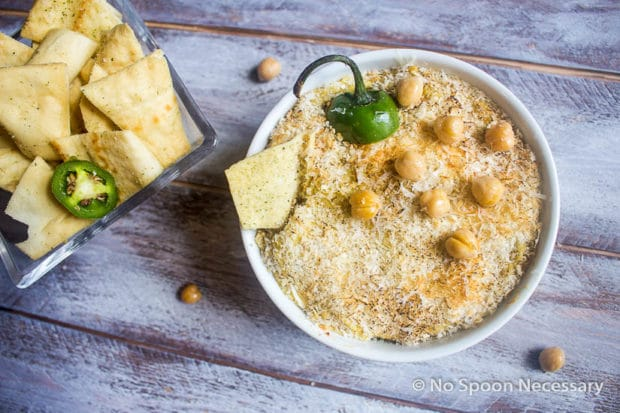 Jalapeno Popper Hummus