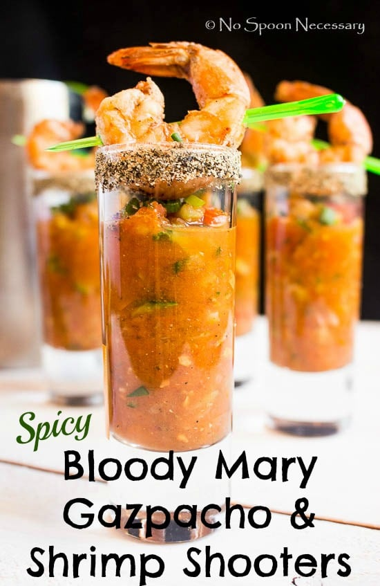 Bloody Mary Gazpacho & Shrimp Shooters - pin1
