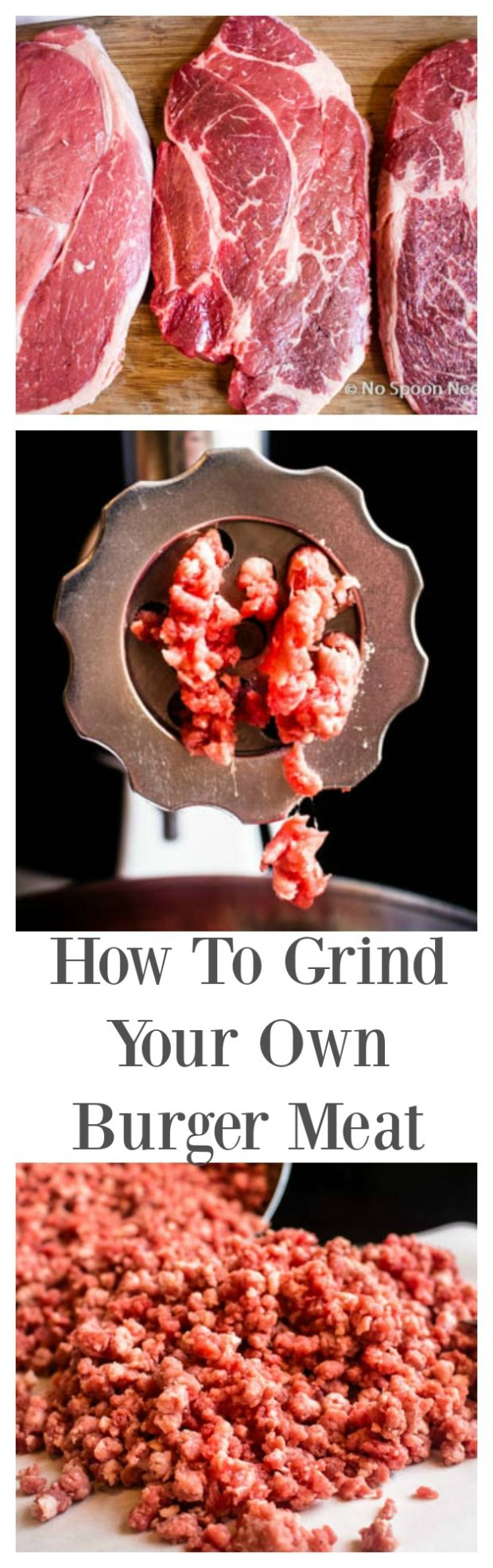 How To Grind Your Own Burger Meat