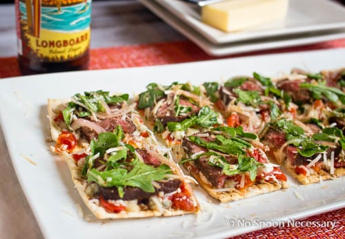 Steak Bruschetta Flatbread-226