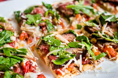 Steak Bruschetta Flatbread-238
