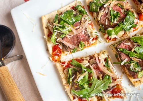 Steak Bruschetta Flatbread-256
