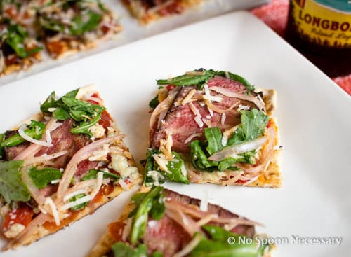 Steak Bruschetta Flatbread-325