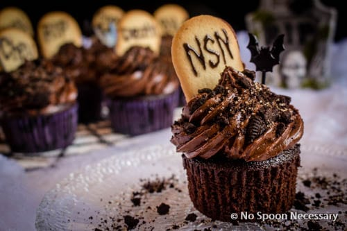 Chocolate Tombstone Cupcakes-270