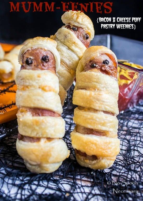 Puff Pastry Hot Dog Mummies