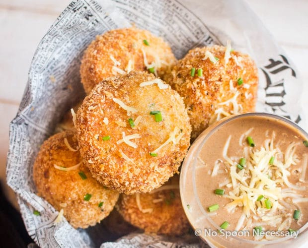 French Onion Soup {inspired} Arancini