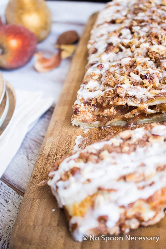 Apple Cream Cheese Danish Braid-235