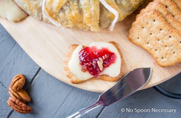 Raspberry Pecan Brie en Croute-104