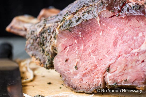 Grill-Roasted Herb-Crusted Standing Rib Roast Recipes — Dishmaps