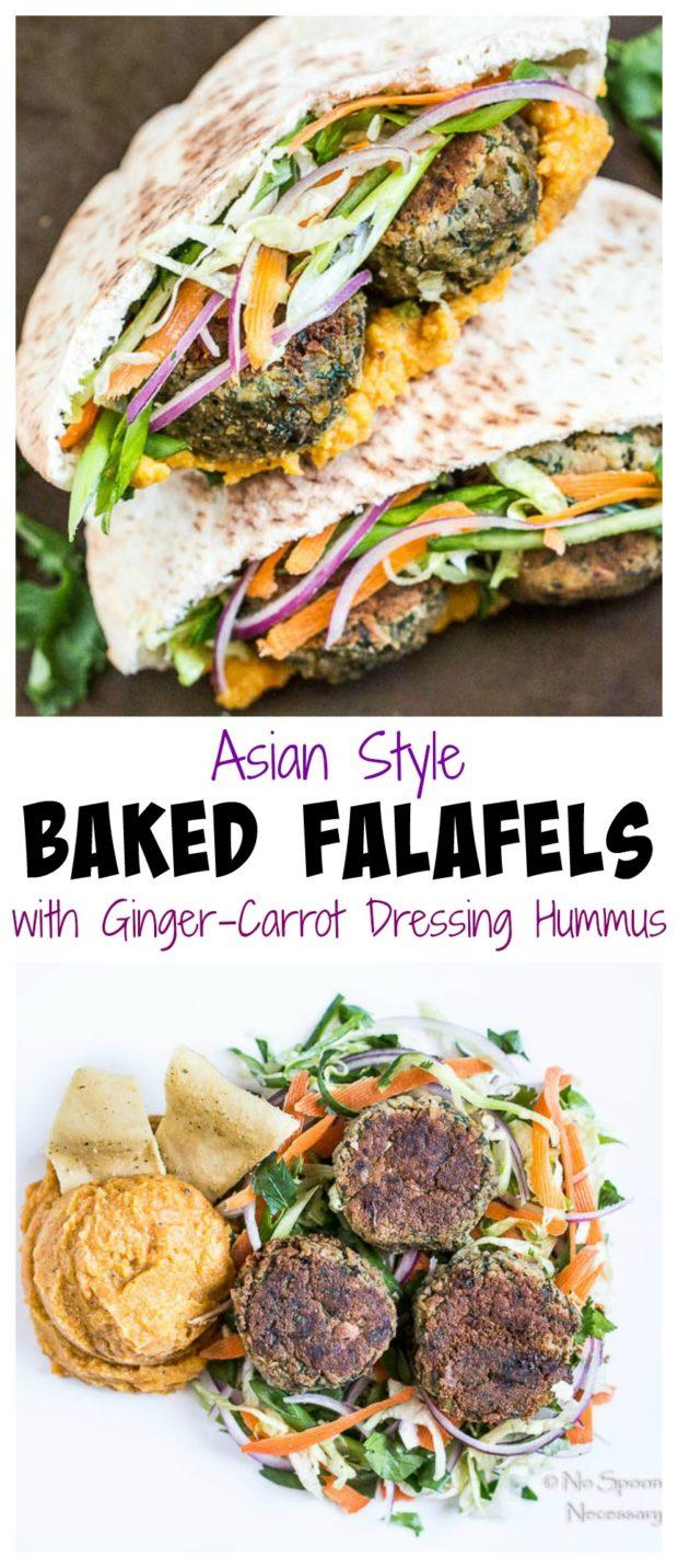 Falafels - asian style
