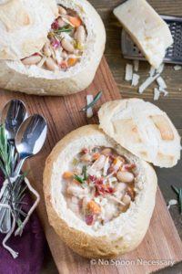 Tuscan White Bean Soup-78