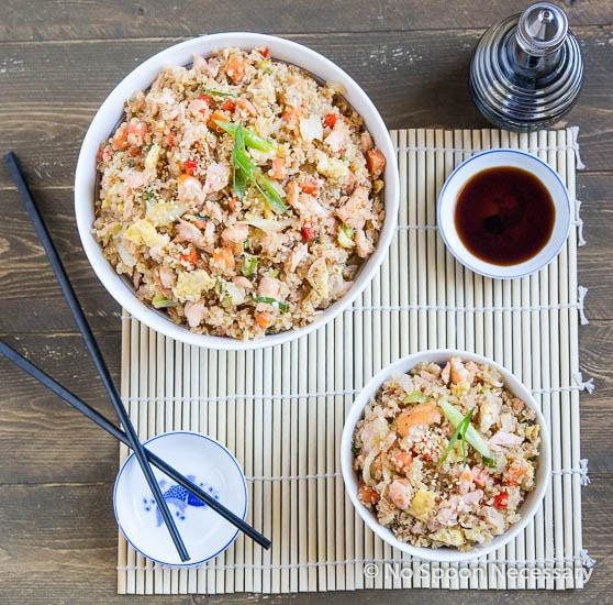 Salmon Quinoa Fried Rice-34