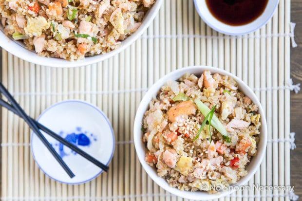 Salmon Quinoa Fried Rice-54