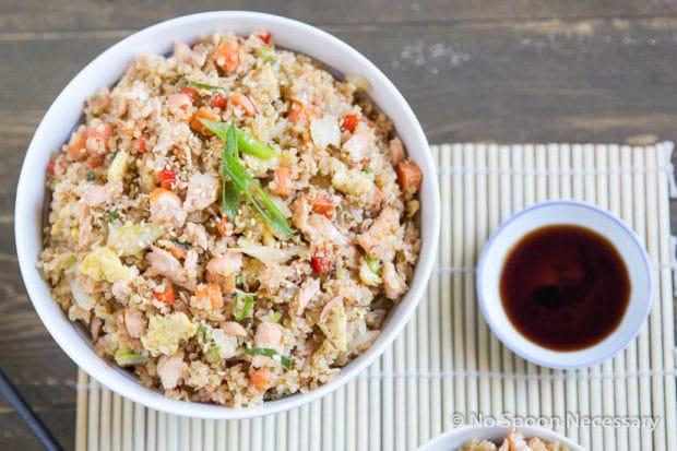 Salmon Quinoa Fried Rice-59