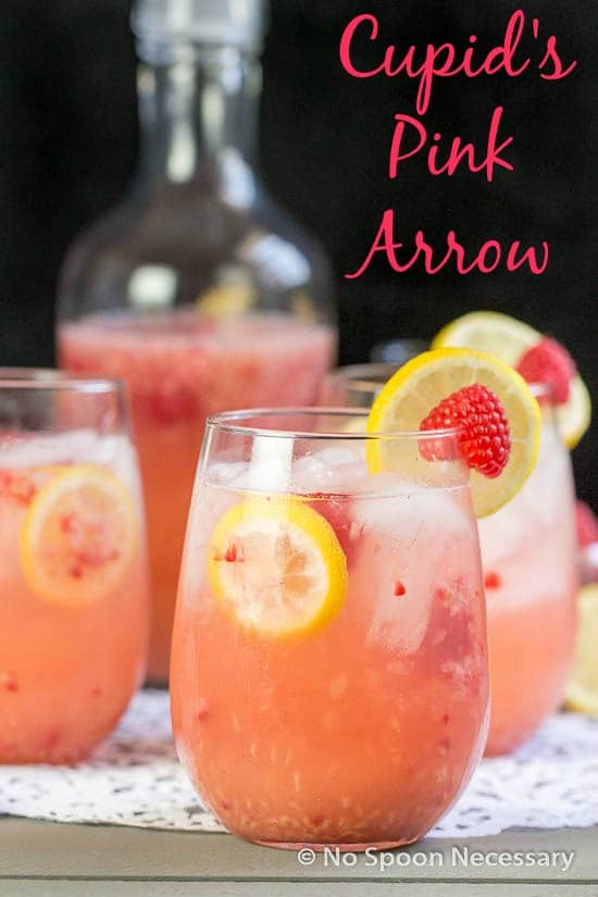 cupid's pink arrow {a valentines day cocktail} - no spoon necessary, Ideas