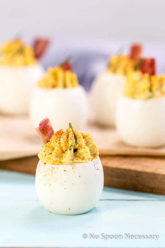 Bacon McMuffin Deviled Eggs