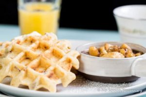 Belgium Pecan Waffles-136