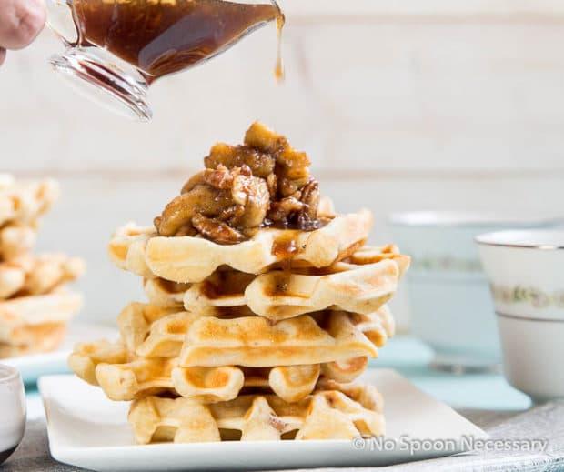 Belgium Pecan Waffles-176