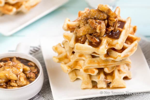 Belgium Pecan Waffles-214