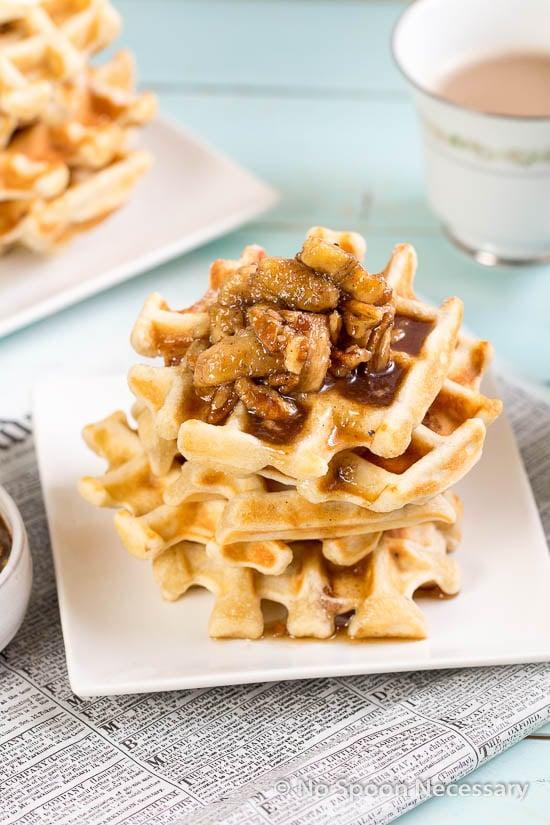 Belgium Pecan Waffles-225