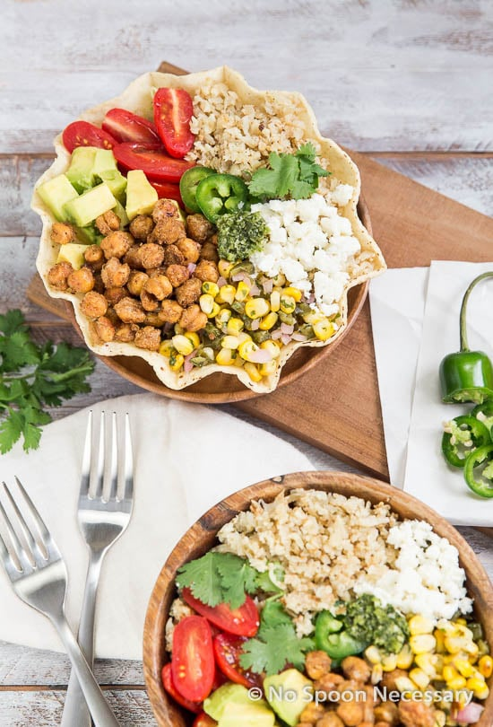 Chickpea Cauliflower Burrito Bowl-105