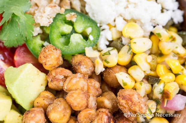 Chickpea Cauliflower Burrito Bowl-14