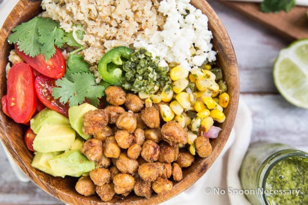 Chickpea Cauliflower Burrito Bowl-190