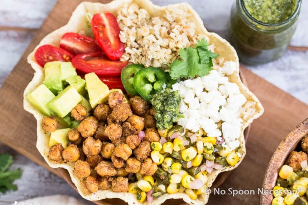 Chickpea Cauliflower Burrito Bowl-35