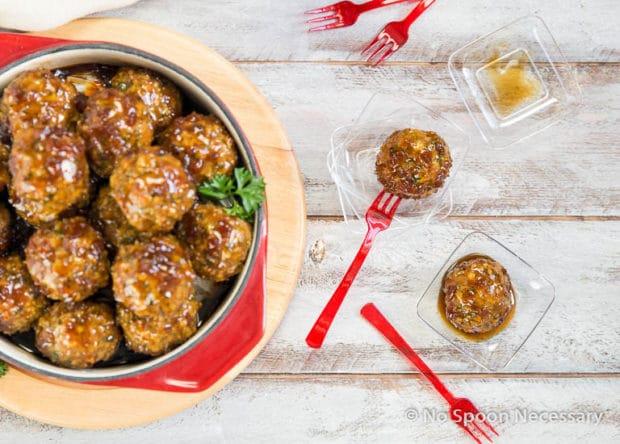 Jack Daniels Glazed Meatballs-144