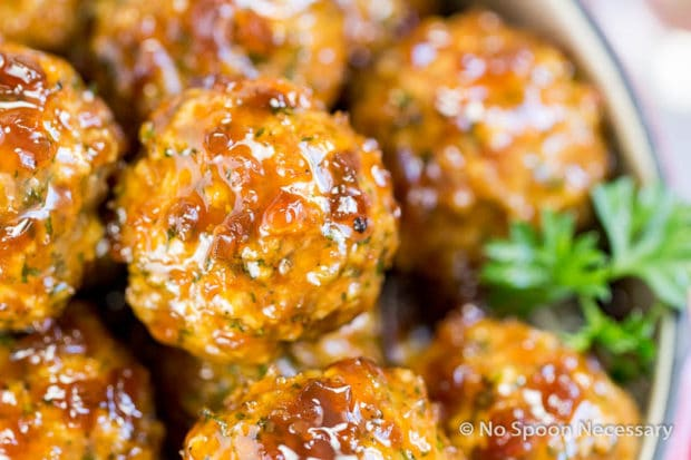 Jack Daniels Glazed Meatballs-52