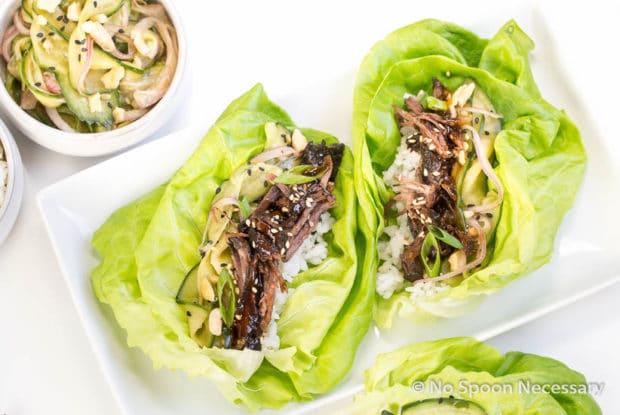 Korean Short Rib lettuce Wraps-104