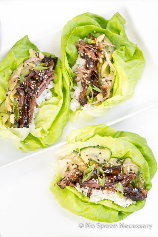 Korean Short Rib lettuce Wraps-107