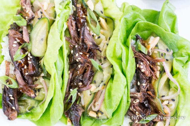 Korean Short Rib lettuce Wraps-154