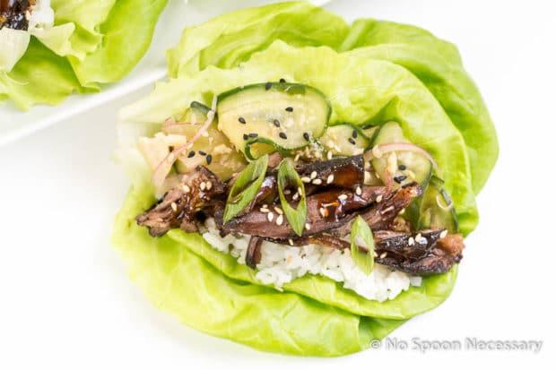 Korean Short Rib lettuce Wraps-91