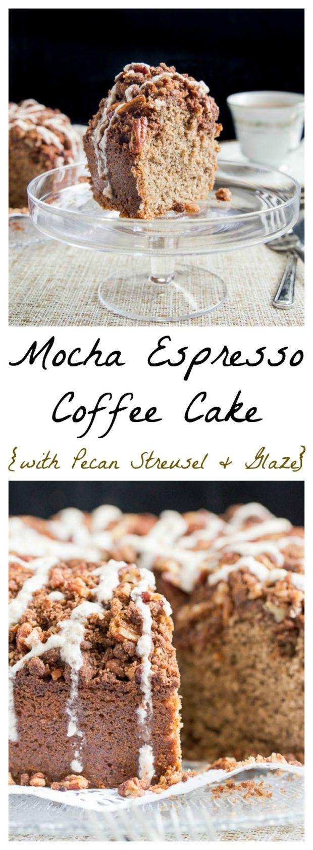 Mocha Espresso Coffee Cake
