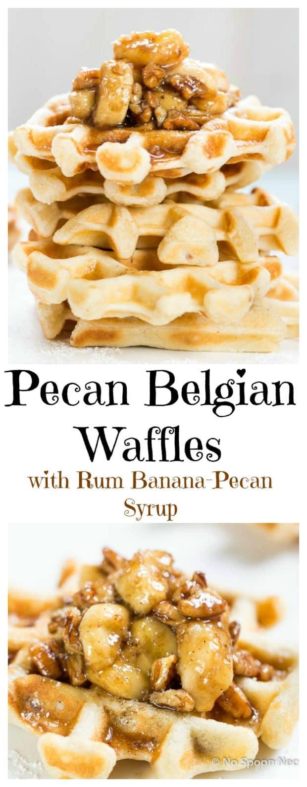 Pecan Belgium Waffles
