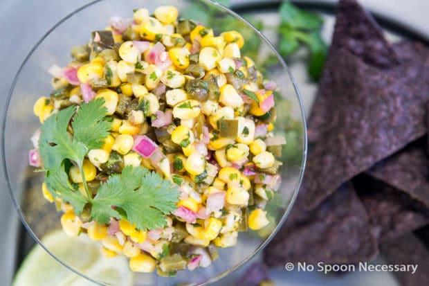 Roasted Corn & Poblano Salsa-16