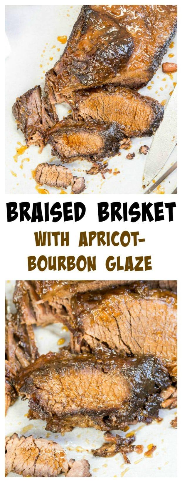 Apricot Bourbon Brisket