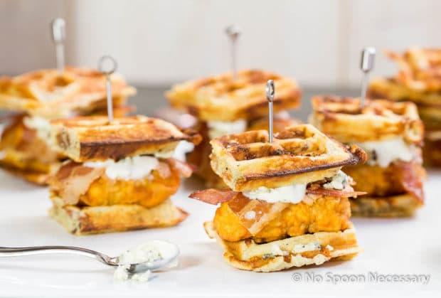 Chicken & Waffle Sliders 2-39