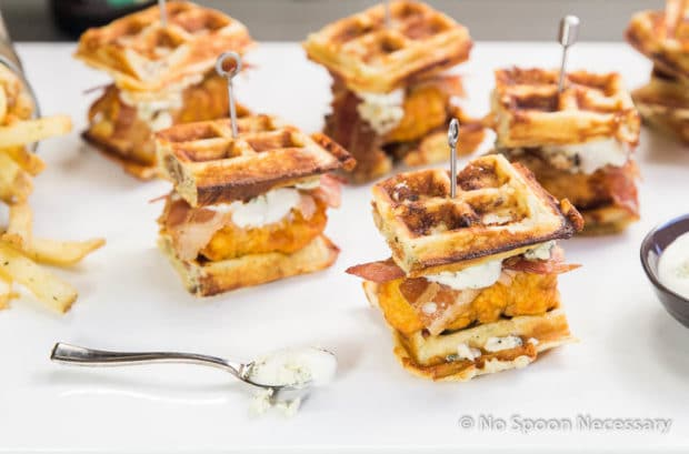 Chicken & Blue Cheese-Bacon Waffle Club Sliders. May 12 ..