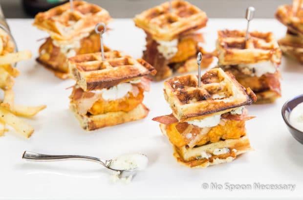 Chicken & Waffle Sliders 2-76