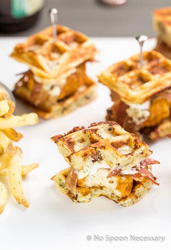 Chicken & Waffle Sliders 2-85