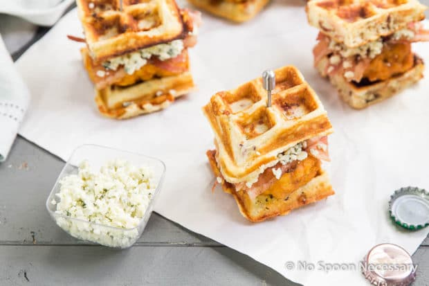 Chicken & Waffles Sliders-125