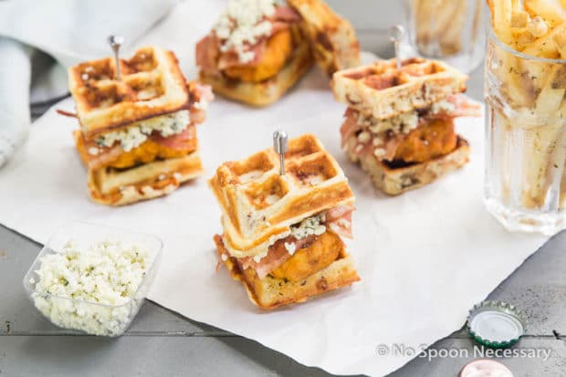savory sweet buffalo chicken and waffles recipes dishmaps savory sweet ...