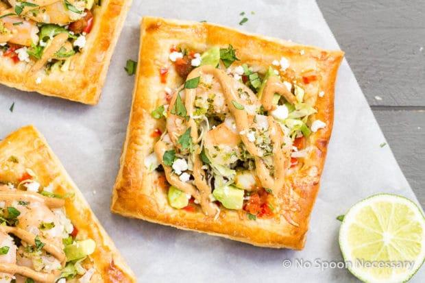 Margarita Shrimp Taco Tarts-16