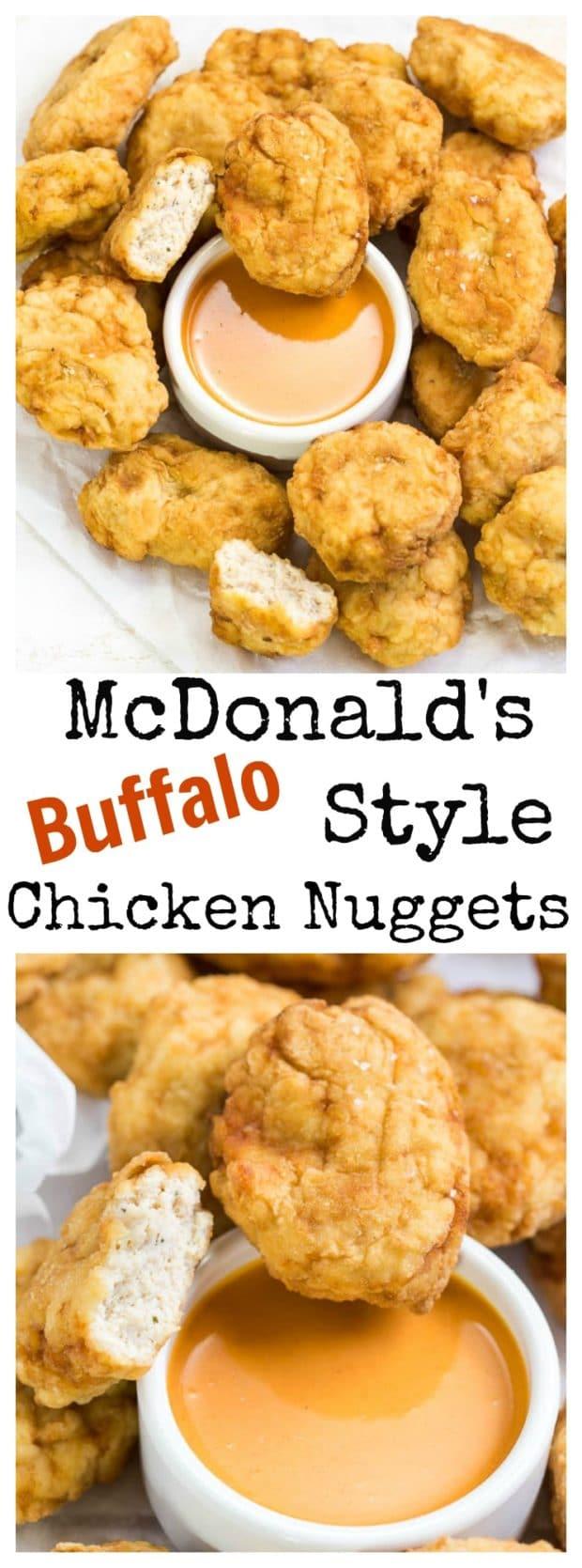 McDonald's Style Buffalo Chicken Nuggets