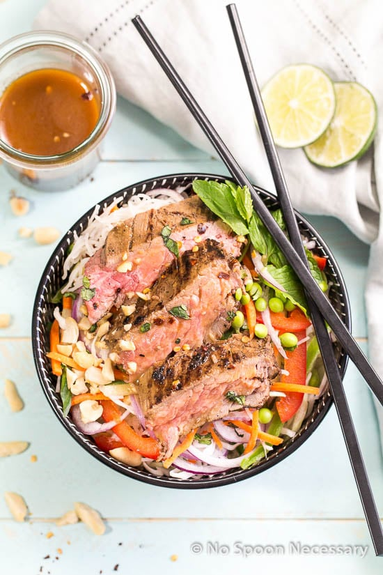 Thai Steak Noodle Salad