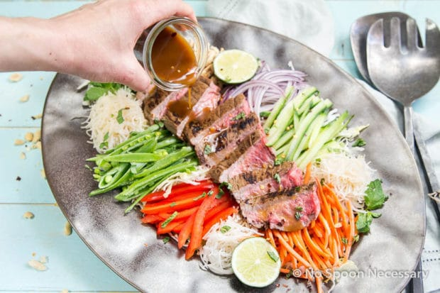 Thai Steak Noodle Salad-91