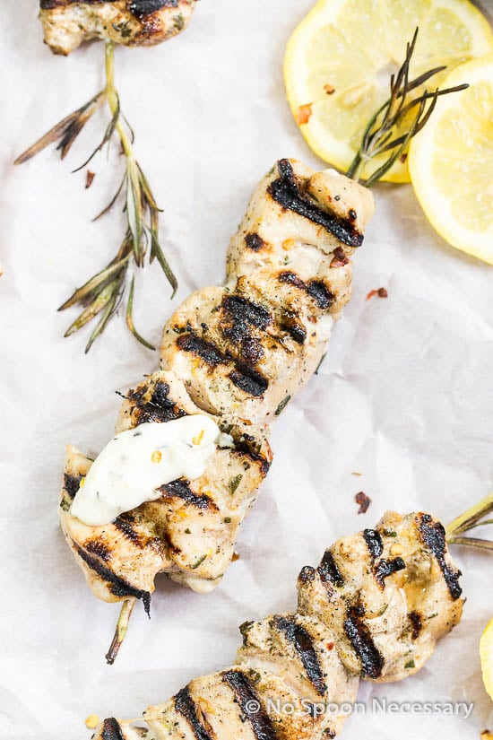 Rosemary Skewered Pistachio Encrusted Chicken Recipes — Dishmaps